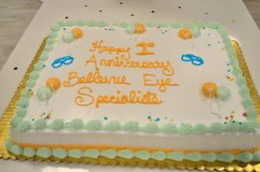 Cake- BES 1st Anniversary
